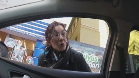 Şoförün Yaya ile Tartışması
