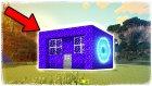 Portal Ev Yaptım | Minecraft Zor Mod #19