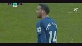 Cenk Tosun'un Topla Buluştuğu Anlar (Everton 1-1 West Bromwich)
