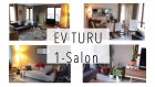 Ev Turu, 1- Salon Mobilyalarım, Bitkilerim, Dekorasyon