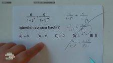 Matematik Öğretmeninin Çatır Çatır Soru Çözme Yöntemi