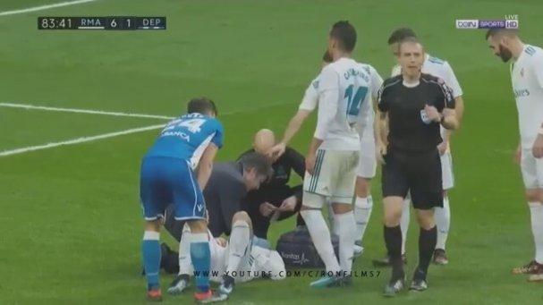 Ronaldo'nun Kaşının Açıldığı An