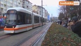 Eskişehir'de Tramvay Kazası: 1 Yaralı
