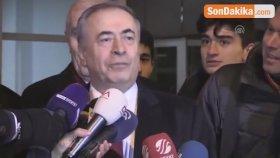 Galatasaray Kulübü Başkanı Mustafa Cengiz'in Açıklaması
