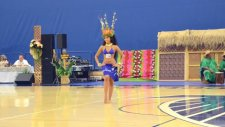 Hunharca Dans Eden Tahiti'li Kız