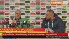 Kayserispor - Galatasaray Maçının Ardından - Kayserispor Teknik Direktörü Marius Sumudica