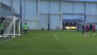 Manchester City Antrenmanında Kaleci Olmak Zor İş!
