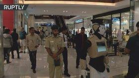 Akınsoft Tarzı Robotların Dubai Polis Teşkilatında Kullanılması