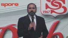 Robinho İmza Töreninde Resmen Sivassporlu Oldu