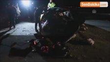 10 Takla Atan Aracın Sürücüsü Hayatını Kaybetti