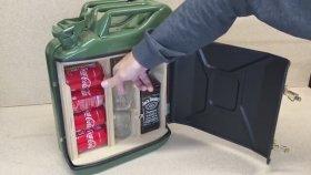 Benzin Bidonundan Mini-Bar Yapmak (Sanat İçerir)