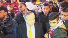Mustafa Cengiz'den GS Store'a ziyaret