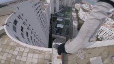 Yüksek Binalarda İzlerken Strese Sokan Gösteri