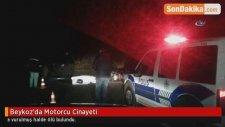 Beykoz'da Motorcu Cinayeti