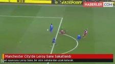 Manchester City'de Leroy Sane Sakatlandı