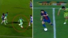 Barcelonalı Kadın Futbolcu Barbara Latorre'den Messi Golü