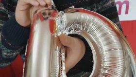 Mini Harf İsim Folyo Balon Nasıl Şişirilir Eğlenceli Balonlar Balon Şişirme Ve İndirme İşlemi