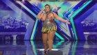 Fazla Kilolarıyla Ağızları Açık Bırakan Dans Yapan Kadın