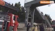 Büyükçekmece E-5'te Köprüye Asılı İran Uyruklu Şahsın Cesedi Bulundu