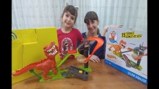 Hot Wheels Çılgın Dinozor Oyuncak Kutusu Açtık, Toys Unboxing