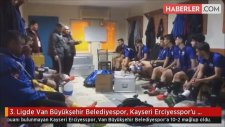 3. Ligde Van Büyükşehir Belediyespor, Kayseri Erciyesspor'u 10-2 Mağlup Etti