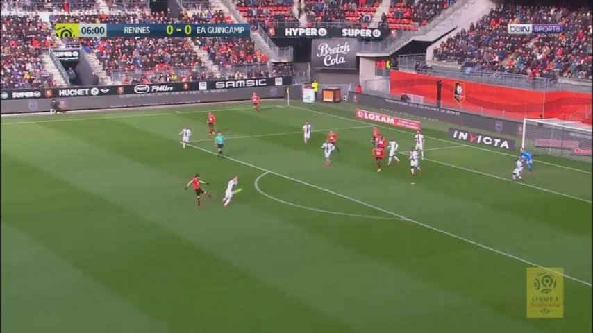 Rennes 0-1 Guingamp (ÖZET)