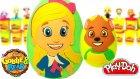 Goldi ve Ayıcık Sürpriz Yumurta Oyun Hamuru Play Doh