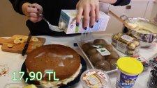 Evde 250 Liralık Pasta Yapmak