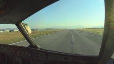 İniş Sırasında Martı Sürüsüne Çarpan Uçak