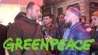 Taksimde Greenpeace Üyesi Bir Ateist'le Musluman Karsı Karsıya Gelirse