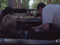 Uma Thurman'ın Kill Bill'de Kaza Yapması