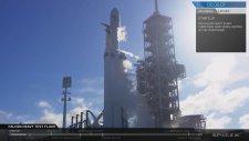 Space-X'in Mars Roketi Falcon Heavy Fırlatıldı