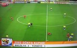 Hasan Şaş'ın Brezilya'ya Attığı Gol Türk Spiker