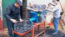 Toz Kömürden Mangal Kömürü Üreten Makine