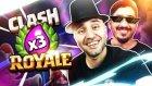 Barzoluğun Üç Kat İksir Hali - Clash Royale