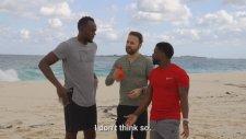 Usain Bolt Bu Kez Kevin Hart'a Yenildi