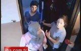 Apartman Sakinlerinden Dayak Yiyen Polis