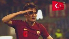 Cengin Ünder'den 2 Gol 1 Asist (Roma 5-2 Benevento)