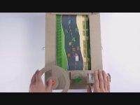 Kartondan Atari Oyunu