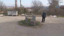 Samsun' da Yol Ortasında Merak Konusu Olan Mezar