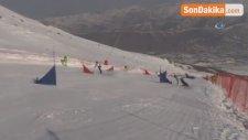 Yıldız'da Snowboard Yarışları Başladı