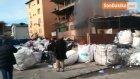Hurdalıkta Çıkan Yangın İtfaiye Ekiplerini Alarma Geçirdi