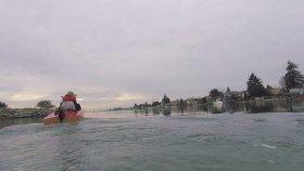 Tek Kişilik Mini Tekne'nin İlk Denemesi