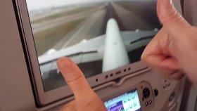 Airbus A 380 landing to Bangkok