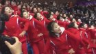 Kuzey Koreli Kızlardan Takımlarına Müthiş Tezahürat