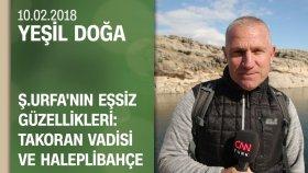 Şanlıurfa'nın Eşsiz Güzellikleri: Takoran Vadisi ve Haleplibahçe - Yeşil Doğa 10.02.2018 Cumartesi