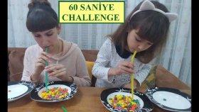 1 Dakika Challenge - 60 Saniye Challenge  Elif Lera Yarışıyor