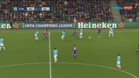 Basel 0-4 Manchester City (Maç Özeti - 13 Şubat 2018)