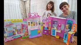 Barbie Veteriner Merkezi , Barbie Pet Care Center, Toys Unboxing