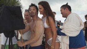 Irina Shayk'tan Seksi Bikini Çekimi.